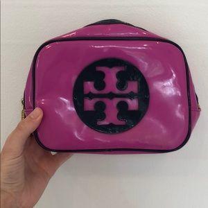 Large Tory Burch cosmetic bag